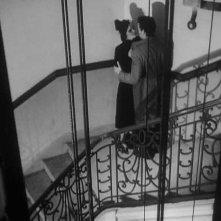 Lucia Bosé con Massimo Girotti in una scena di CRONACA DI UN AMORE