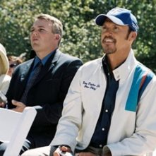 Michael Keaton in una scena di Herbie, il supermaggiolino