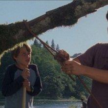 Rory Culkin e Trevor Morgan in una scena di Mean Creek