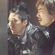 Richie Ren e Brandon Chang in una scena di Silver Hawk