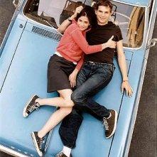 Amanda Peet e Ashton Kutcher in Sballati d'amore