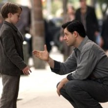 Connor Price e Russell Crowe in Cinderella Man
