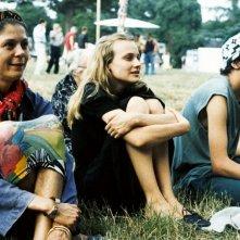 Diane Kruger seduta in una scena del film Frankie