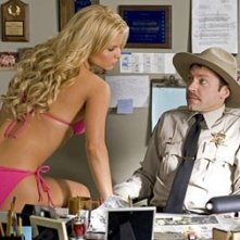 Jessica Simpson e Michael Weston in Hazzard