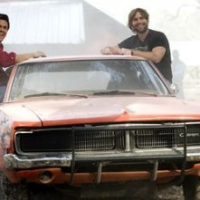 Johnny Knoxville e Seann William Scott in Hazzard