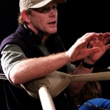 Ron Howard sul set di Cinderella Man