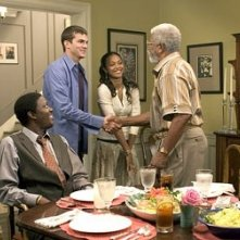 Bernie Mac, Ashton Kutcher, Zoe Saldana e Hal Williams in Indovina chi