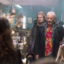 Jocelyn Quivrin e Jean Reno in una scena de L'impero dei lupi