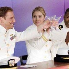 Josh Lucas, Jessica Biel e Jamie Foxx nel film Stealth - Arma suprema