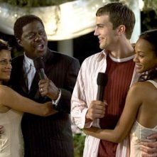Judith Scott, Bernie Mac, Ashton Kutcher e Zoe Saldana in