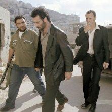 Una scena di Paradise Now diretto da Hany Abu-Assad