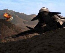 Una scena d'azione di Stealth - Arma suprema