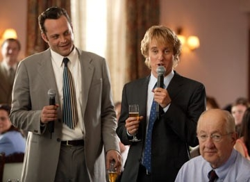 Vince Vaughn e Owen Wilson in 2 single a nozze
