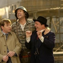 Matthew Broderick, Will Ferrel e Nathan Lane in una scena di The Producers