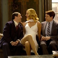 Nathan Lane, Uma Thurman e Matthew Broderick in una scena di The Producers