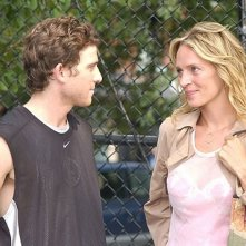 Uma Thurman e Bryan Greenberg in una scena del film Prime