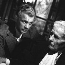 Joseph Cotten e Richard Bennett in una scena de L'orgoglio degli Amberson