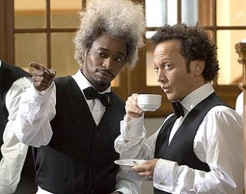 Eddie Griffin accanto Rob Schneider in Deuce Bigalow: puttano in saldo