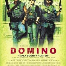 la locandina americana di Domino
