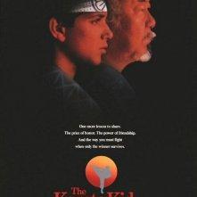 La locandina di Karate Kid II - la Storia Continua