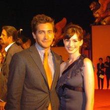 Jake Gyllenhaal e Anne Hathaway a Venezia per Brokeback Mountain