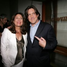 Paula Wagner e Cameron Crowe a Venezia per il film Elizabethtown