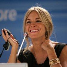 Sienna Miller a Venezia per presentare il film Casanova
