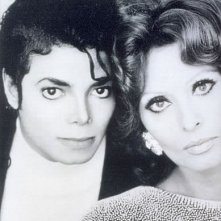 Due miti, Sophia Loren e Michael Jackson