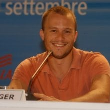 Heath Ledger a Venezia per presentare I fratelli Grimm