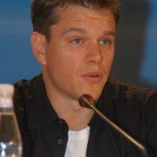 Matt Damon alla Mostra di Venezia per presentare I fratelli Grimm