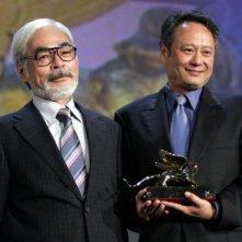 Hayao Myiazaki e Ang Lee festeggiati al Lido