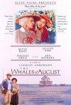 La locandina di Le balene d'agosto