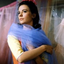 la bella Natalie Wood in una scena di West Side Story