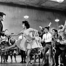 Rita Moreno e George Chakiris in una scena di West Side Story