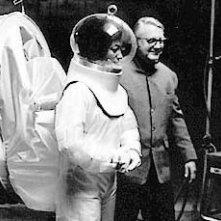 Robert Wise sul set di Andromeda