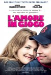 La locandina italiana di L'amore in gioco