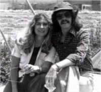 John Carpenter e Debra Hill sul set di Fog