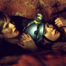 Una scena di The Descent - discesa nelle tenebre