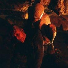 Una spaventosa scena del claustrofobico horror The Descent