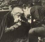 Eleonora Duse e Fedo Mari in una scena di Cenere