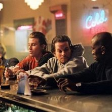 Andre Benjamin, Tyrese Gibson, Mark Wahlberg in Four Brothers