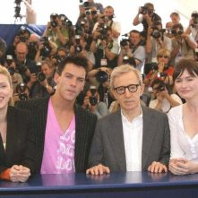 Il cast di Match Point al Festival del Cinema di Cannes