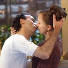 Roberto Benigni e Nicoletta Braschi in La tigre e la neve