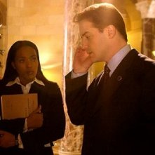 Nona Gaye e Brendan Fraser in Crash