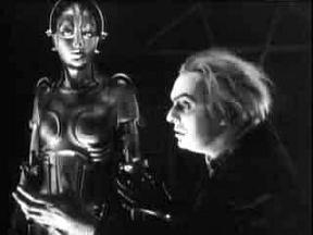 Rotwang e il robot in METROPOLIS
