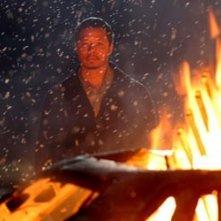 Terrence Dashon Howard in una scena di Crash