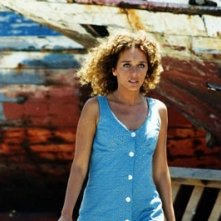 Valeria Golino in una sequenza del film Respiro