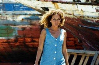 Valeria Golino in una sequenza del film Respiro