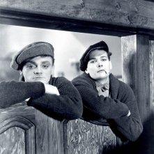 James Cagney ed Eddie Woods in  Nemico Pubblico