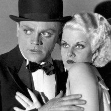 Jean Harlow e James Cagney in Nemico Pubblico